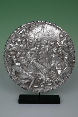 Silver plaquette