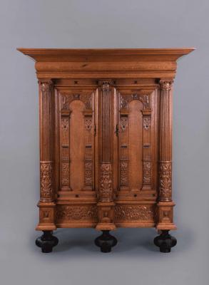 A Dutch Frisian Display Cabinet, around 1680