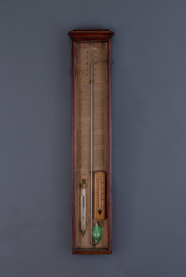 An English Fitzroy's barometer, around 1855
