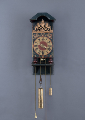 A very rare Twentse 'Stoel' Clock, 1737