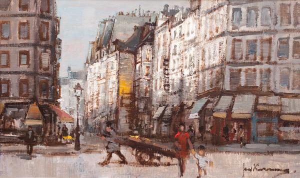 Rue des Lombards Paris - Johannes (Jan) Korthals