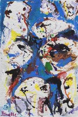 Abstract Compositie - Mogens Balle