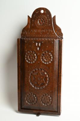 Een 18de eeuwse Hollandse schooltas