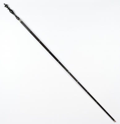 A rare Dutch ebony measure stick