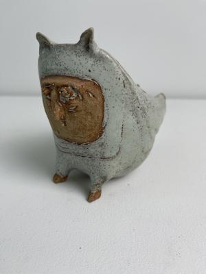 Adri Baarspul, 2013, owl, fable bird - Adriana Catharina Baarspul