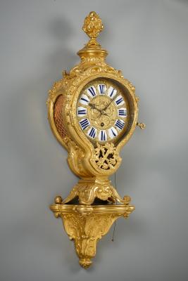 French Régence wall clock