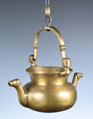 A bronze lavabo
