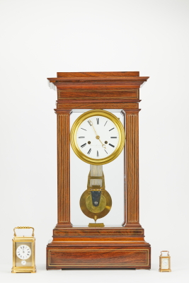 4 glass french regulator clock