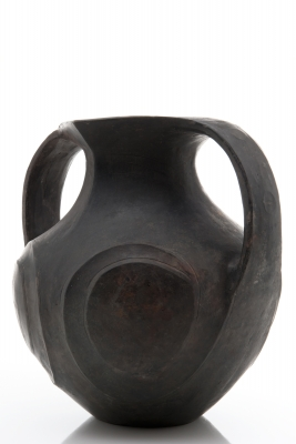 Large Chinese grey pottery amphora. Lifeng type from Sichuan