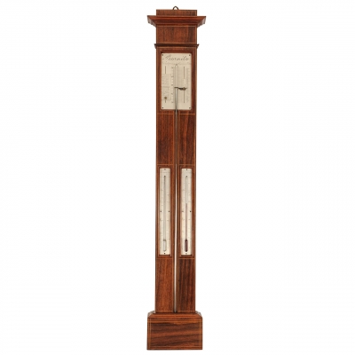 Een Franse pallissander barometer, door Vion, omstreeks 1840