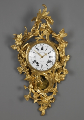 French Louis XV Cartel Clock