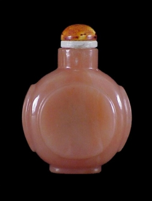 A carnelian snuffbottle