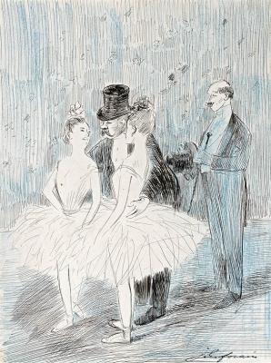 L'invitation - Jean- Louis Forain