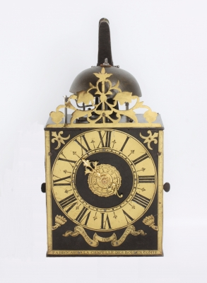 An early and fine French Morbier wall clock P.A. Brocard, circa 1730