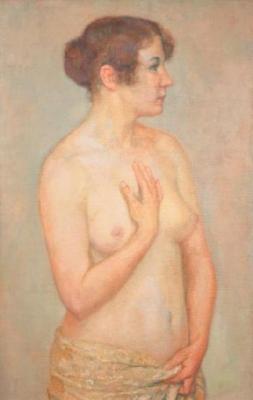 Nu debout, Maud - Théo van Rysselberghe