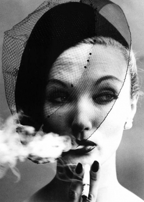 Smoke and Veil, Paris, Vogue - William Klein