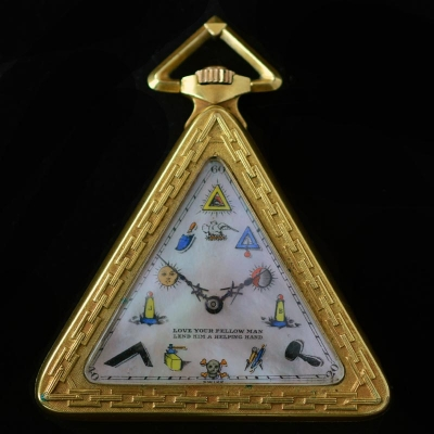 Masonic pocketwatch
