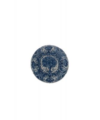 A Little Blue - White Delft Plate