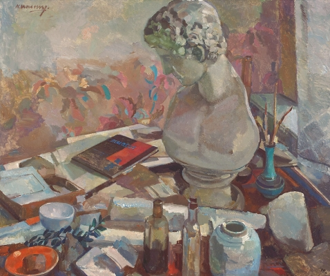 Still life with bust - Kees Verwey
