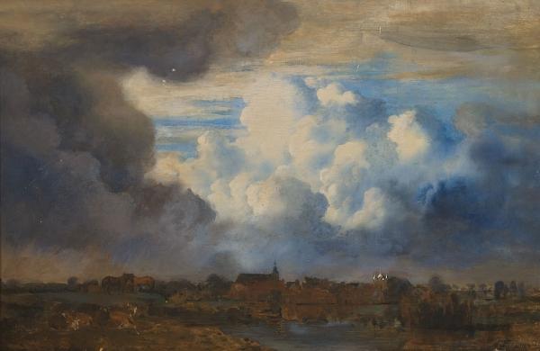 View on Hattem ad Ijssel - Jan Voerman sr