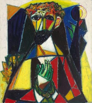 Christus voor Pilatus - Quirijn van Tiel