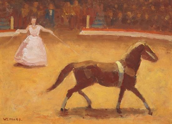 Horse Taming - Cornelis Johannes (Kees) Maks