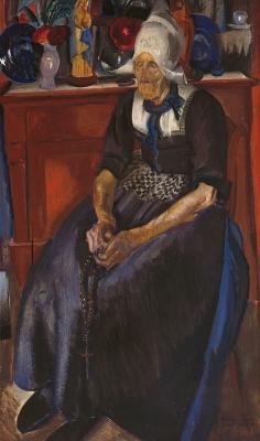 Portret van Geert Karregat, Volendam - Piet van der Hem