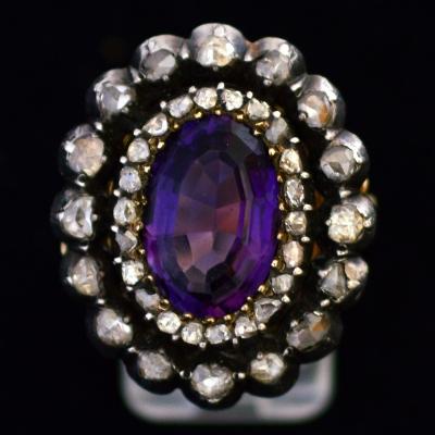 impressive amethyst ring