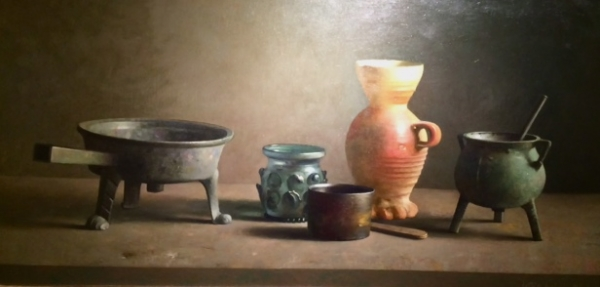 Still life with various objects