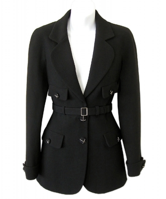 Chanel Black Wool Jacket - Chanel