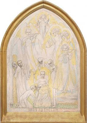Imus Ad Coulum, De dood van den heiligen Aloysius 1909-1920 - Jan Toorop