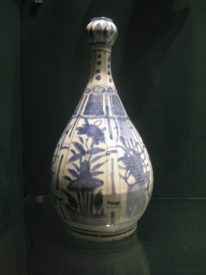 Garlic head vase Wanli Kraak porcelain
