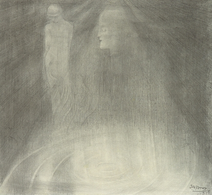 L'Apparition Mystique - Jan Toorop