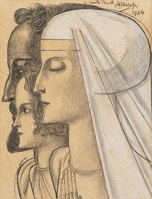 La Sainte Famille - Jan Toorop