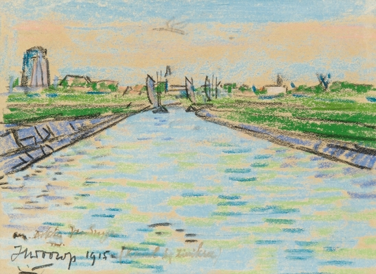 Harbour of Zierikzee - Jan Toorop