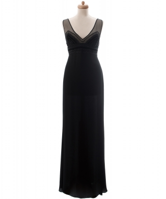 Valentino Black Evening Gown - Valentino