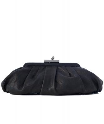 Chanel Black Caviar Leather 'Monte Carlo' Clutch - Chanel