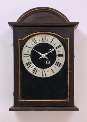 A Swiss provincial religieuse wall clock, circa 1680