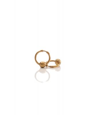 Chanel CC Logo Hoop Earrings 94A - Chanel