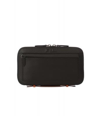 Ralph Lauren Black Leather Zip-Around Travel Wallet - Ralph Lauren