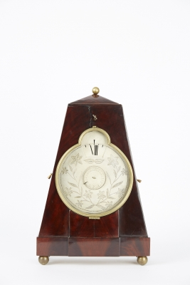 Night clock with alarm