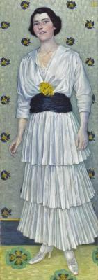 Portret van Hedwig Nijhoff-Selldorff - Wilhelm List