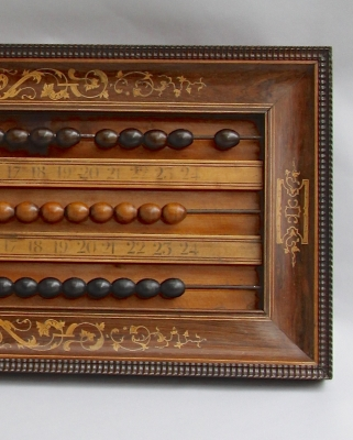 Billiards scoreboard