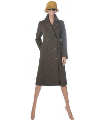 Ralph Lauren Double-breasted Herringbone Coat - Ralph Lauren