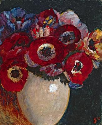 Still life with flowers - Jan Sluijters