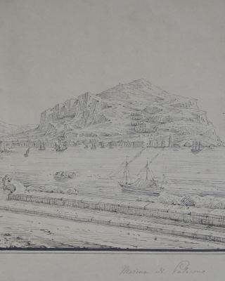 Senape: Marina di Palermo - Antonio Senape
