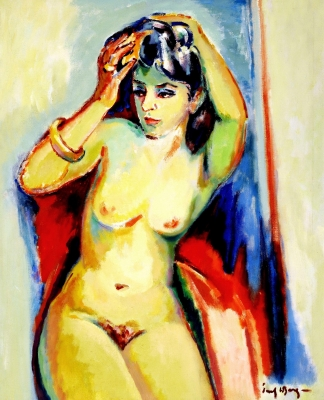 Female nude - Freek van den Berg