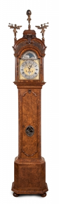 Dutch longcase clock signed by Gerrit Bramer Amsterdam
