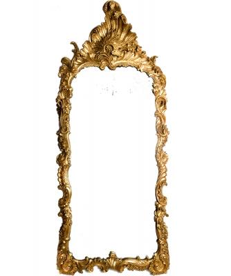 A Rectangular Louis XV Mirror