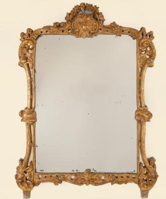 Een Rectangular Louis XIV Mirror
